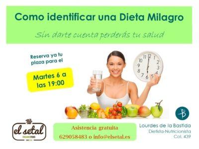 Cartel dietas milagro publicidad