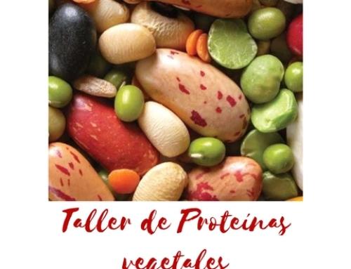 Taller de Proteínas Vegetales