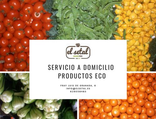 SERVICIO A DOMICILIO PRODUCTOS ECOLÓGICOS