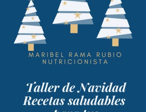 TALLER DE NAVIDAD-RECETAS SALUDABLES PARA TUS CELEBRACIONES